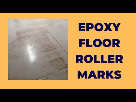 Epoxy Floor Roller Marks: How to Eliminate them