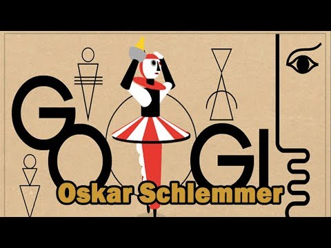 Oskar Schlemmer - Short Biography and Paintings