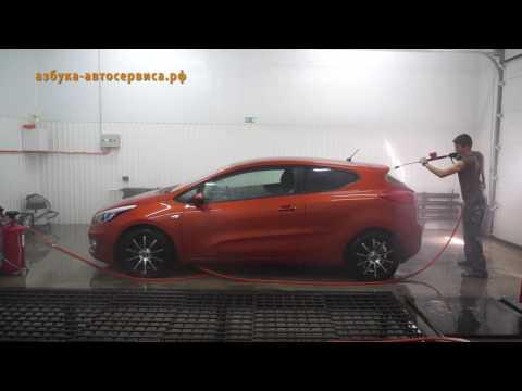 Как помыть машину на мойке Азбука Автосервиса
