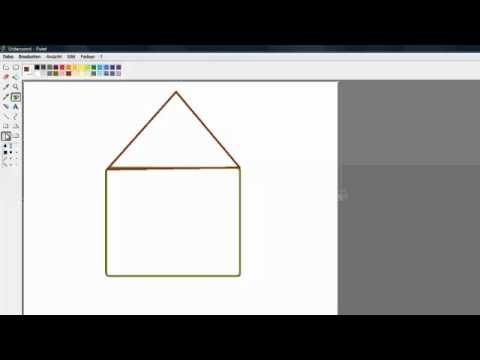 Paint Lounge: Wie Male Ich Ein Haus? Tutorial