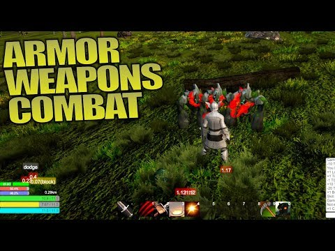 ARMOR WEAPONS & COMBAT | Solace Crafting | Let's Play Multiplayer Gameplay | S01E03