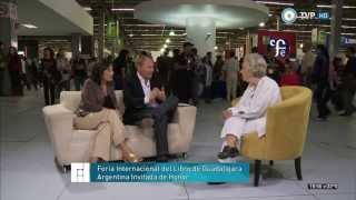 Argentina en la Feria del Libro de Guadalajara - Elena Poniatowska - 05-01-14