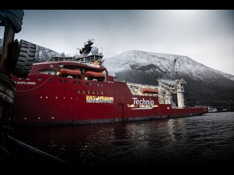 Sepro™ MoonPool Handling system on board DSV Deep Explorer
