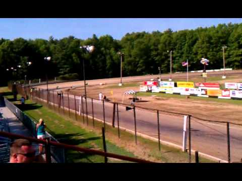 Albany Saratoga Speedway 85cc Race 2014 Electric City Riders