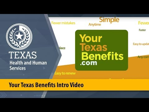 Your Texas Benefits Intro Video