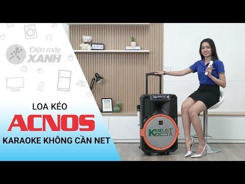 Loa Kéo Acnos: Hát Karaoke Mọi Nơi Không Cần Wifi/3G (KB39S) | Điện Máy XANH