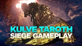 Monster Hunter World: Kulve Taroth Siege Gameplay