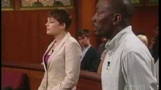 Judge Judy - Funny Drunk Lady Impression