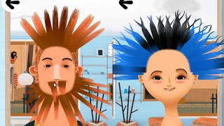 Toca Hair Salon 2 Education Creativity Android İos Free Game GAMEPLAY VİDEO