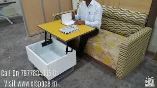 Baixar Single Lift Top Cetre Table with Metal Legs