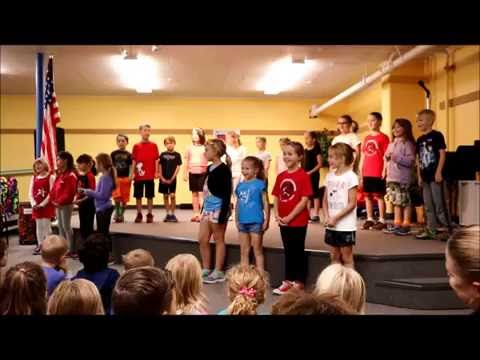 SGS 2nd Grades 50 State Song