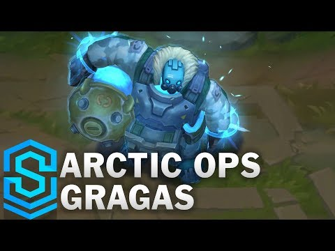 Arctic Ops Gragas Skin Spotlight - League Of Legends