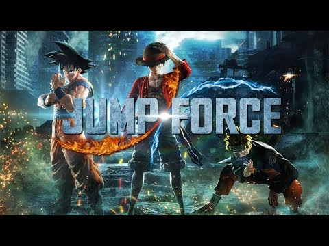 Jump Force (Xbox One) Open Beta - All 17 Characters Gameplay [1080p 60fps]