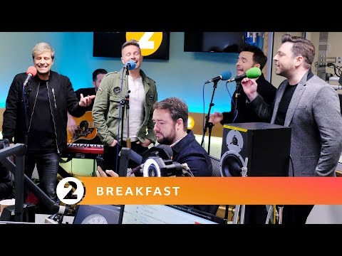 Westlife - Mandy (Barry Manilow cover) Radio 2 Breakfast