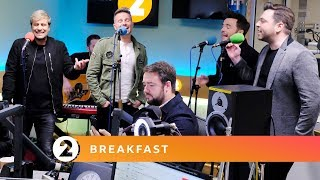 Westlife - Mandy (Barry Manilow cover) Radio 2 Breakfast