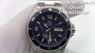 Обзор. Мужские механические наручные часы Orient AA02002D