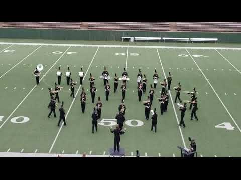 Archer City High School Marching Band 2017 Regional Marching Contest
