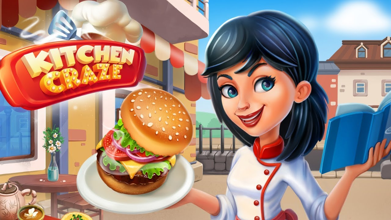 Kitchen craze master chef cooking game hack new new new