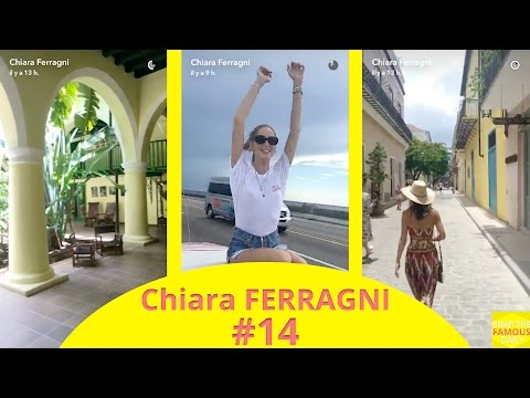 Chiara Ferragni in Cuba - snapchat - july 26 2016
