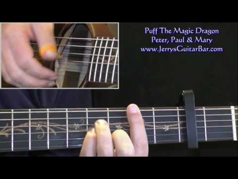 How To Play Peter, Paul & Mary Puff the Magic Dragon (preview only)