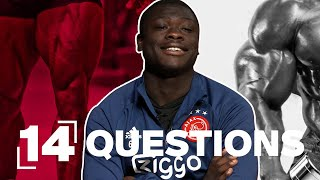 Skip leg day or skip arm day? | 14 QUESTIONS with Brian Brobbey