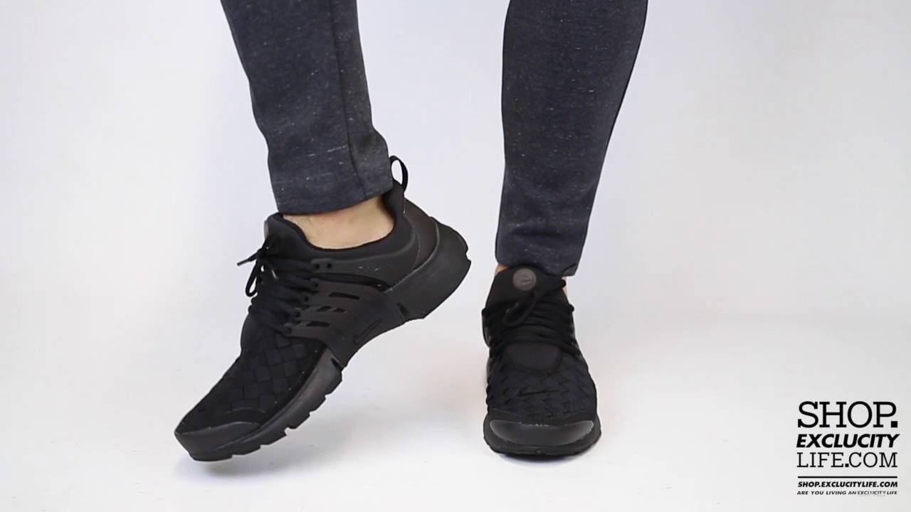 c82c410facde2 Nike Air Presto SE Triple Black On feet Video at Exclucity - YouTube