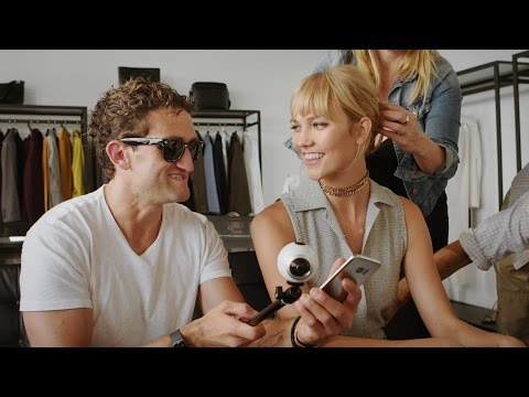 Create with Gear 360: Casey Neistat x Karlie Kloss