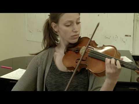 Carolyn Huebl & Sandra Bouissou: Violin @ BMC