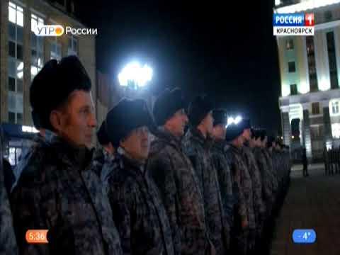 Сводный отряд краевой полиции вернулся из служебной командировки в Чеченскую республику