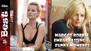 Margot robbie embarrassing & funny moments