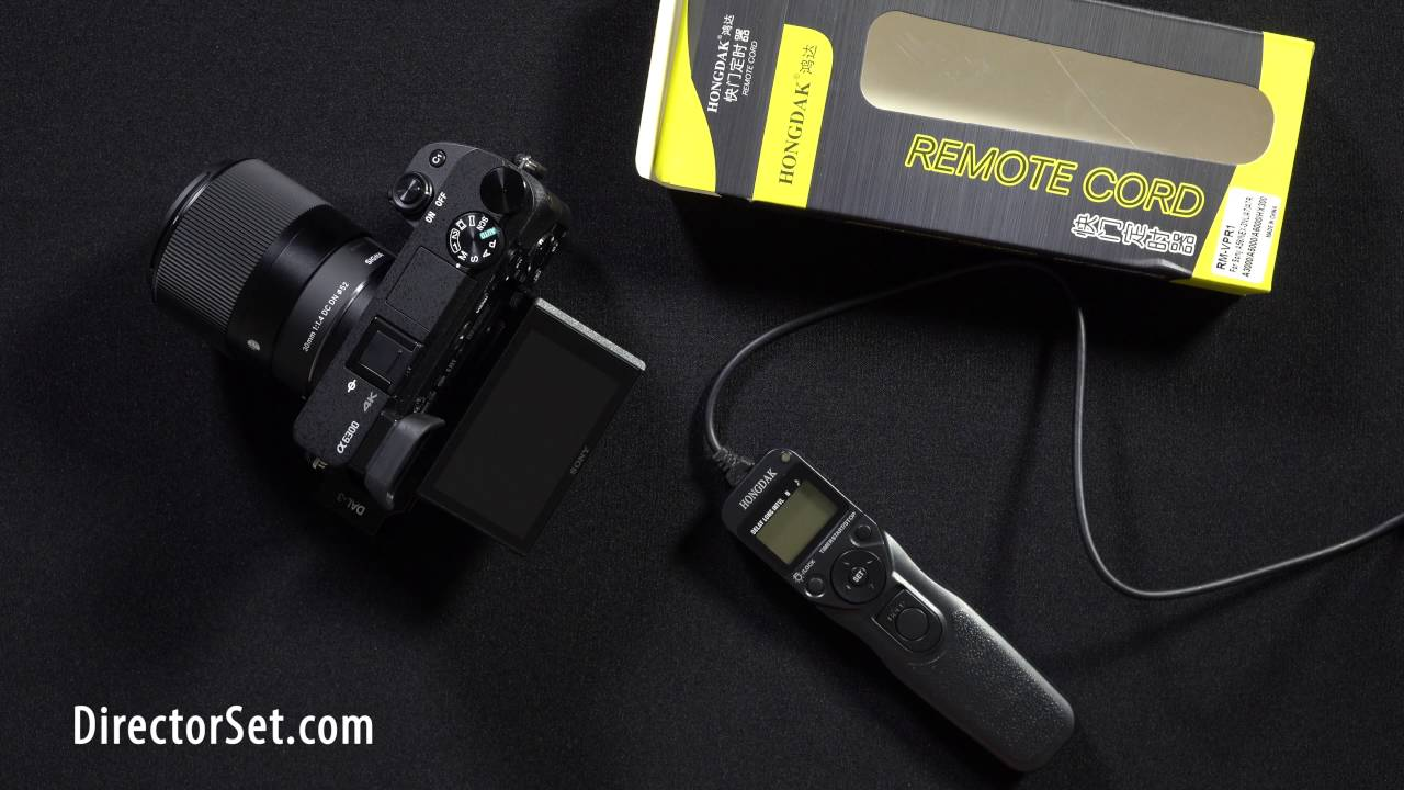 Review Hongdak Shutter Release Intervalometer And Sony A6300 R C Switch For Radio Control Includes Camera