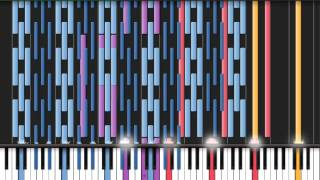 [Black MIDI] Synthesia - Vocaloid: Two Faced Lovers black