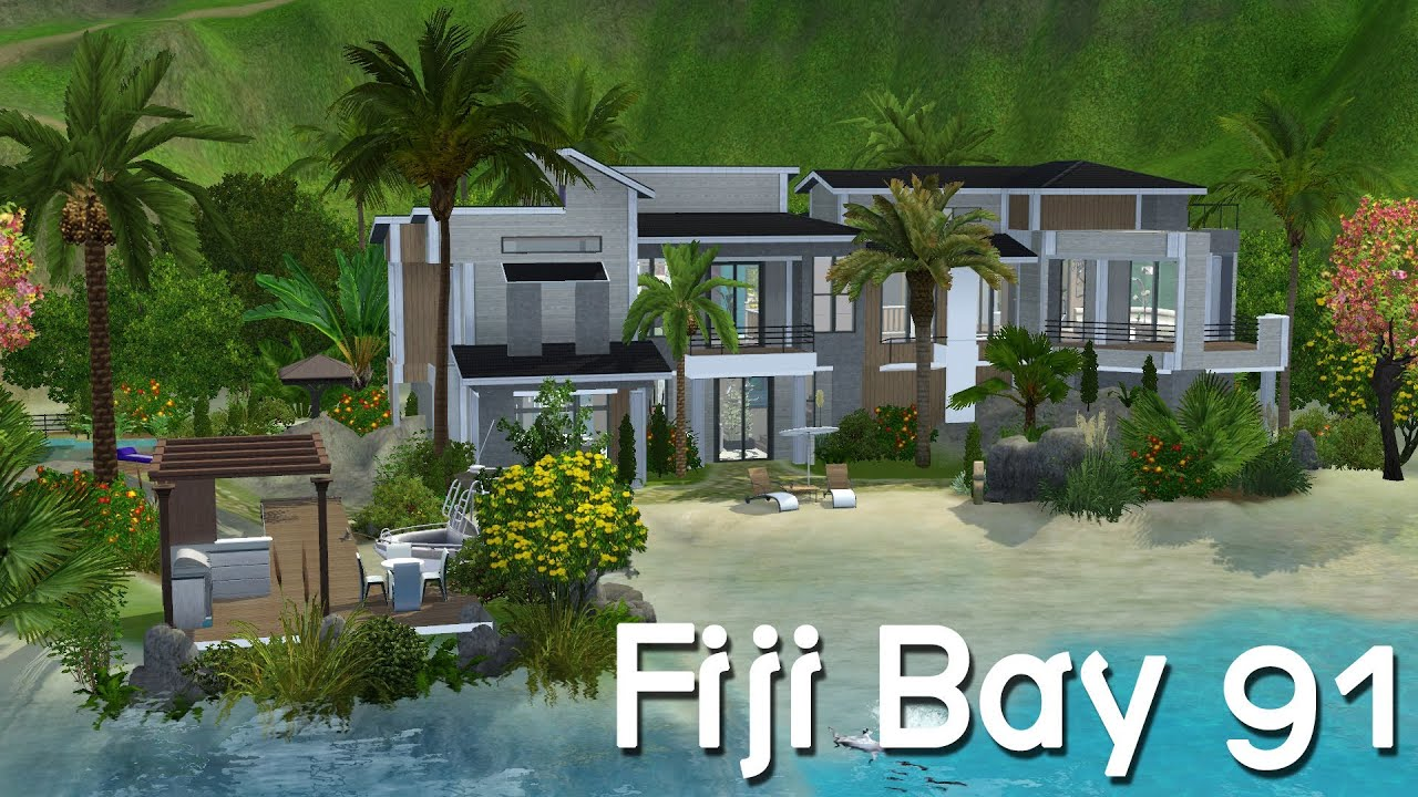 House of speed green bay - The Sims 3 House Building Fiji Bay 91 Speed Build