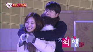 【TVPP】Yura(Girl's Day) - Romantic Skating, 유라 - 스킨십 풍년~!!! 로맨틱 심야 스케이팅 @ We Got Married