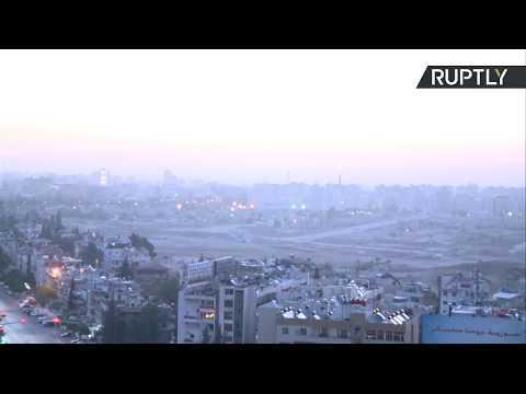 Así se ve Damasco tras el ataque conjunto de EE.UU., Francia y Reino Unido