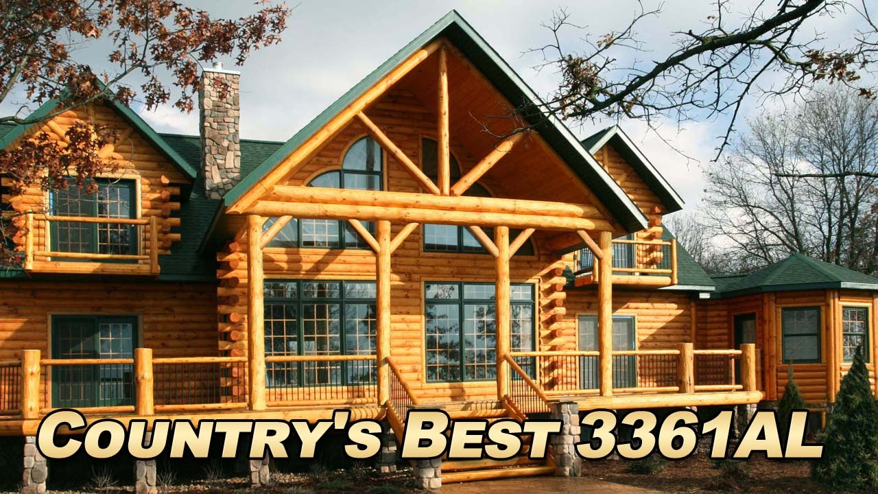 Country S Best Log Home Gourmet Kitchen Design Ideas Wine Cellar Youtube