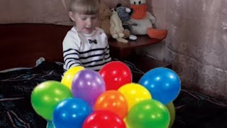 ✿ Учим Цвета  для Детей 2 лет на Русском Учим Цвета Шарики