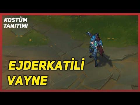 Ejderkatili Vayne (Kostüm Tanıtımı) League of Legends