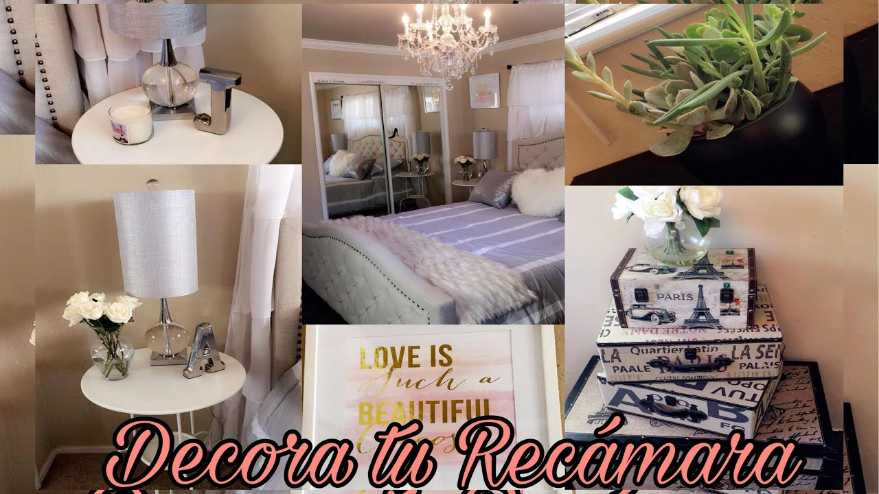 Ideas para decorar tu recamara sin gastar dinero youtube for Ideas para decorar una recamara