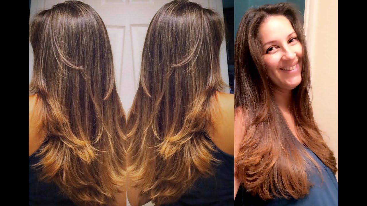 cortes de cabelo repicado lisos