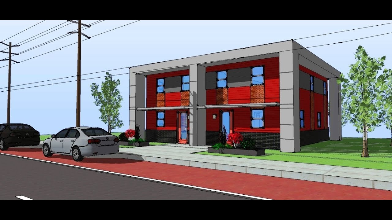 Habitat for Humanity House Design Walkthrough - YouTube