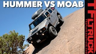H2 vs Moab: Is the World's Most Hated Truck Actually Good Off-Road?