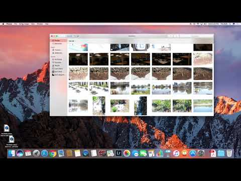 How to upload photos from mac to icloud photo library