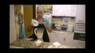 Bolo de Arroz Crú 2015  uma delicia Daiana Xavier Mendes...How to make cake of uncooked rice
