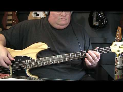 Plantinum Blonde Doesn't Really Matter Bass Cover with Notes & Tab