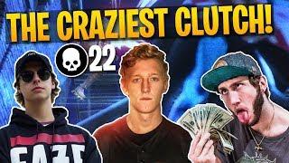CARRYING FAZE BANKS & CIZZORZ! 22 Kill Gameplay (Fortnite Battle Royale) thumbnail