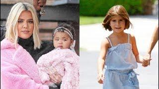 Khloe Kardashian Shares Cute Video Of Penelope Disick & True Thompson's Playdate — Watch