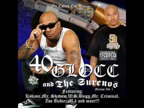 40 Glocc Feat. Mr. Criminal & Mr. Silent- Bald Heads & Blue Rags