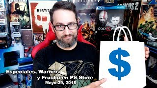 Ofertas Especiales, Warner y Frucho en PS Store Mayo 29, 2018