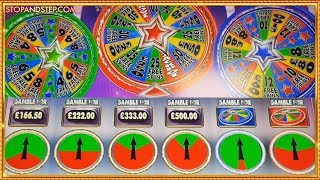 £20 STAKES !!! NEW FOBT GAME Super Starturns with CRAZY PIE GAMBLES!